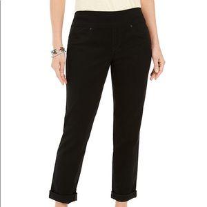 Style & Co Pull On Boyfriend Jeans